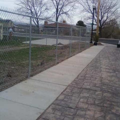 Utah Chain Link Fence