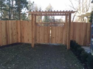 Utah Wood Fence