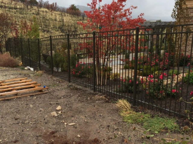 iron fence ornamental