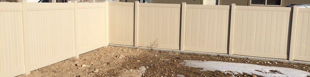 Vinyl Fencing Contractor in West Jordan Utah