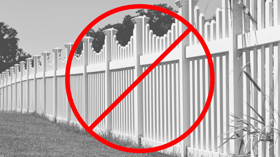 4 Reasons To NOT Choose Vinyl Fencing